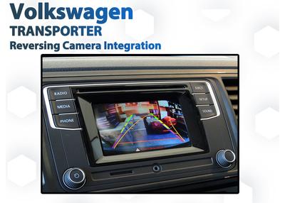 Volkswagen VW T6 Transporter Reverse Camera Integration for Composition Media Audio