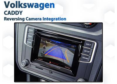 Volkswagen VW Caddy 2015 - 2020 Reverse Camera Integration for Composition Media Audio