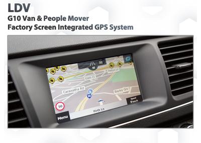 LDV G10 2013 - 2016 - GPS Navigation retrofit