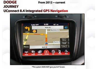 Dodge Journey 2012- 2018 - UConnect 8.4 GPS NAV Integration