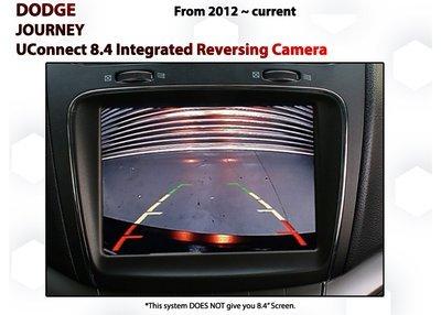 Dodge Journey [2012-Current] UConnect 8.4 Audio Integrated Reverse Camera