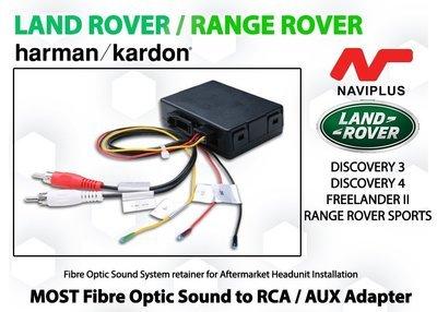 Land Rover / Range Rover Harman Kardon MOST Fibre optic Sound Adapter for Aftermarket Headunit