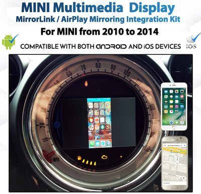 MINI iDrive Integrated MirrorLink / AirPlay System