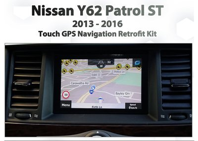 [2013 - 2016] Nissan Y62 Patrol / Armada - Touch overlay GPS NAV Integration