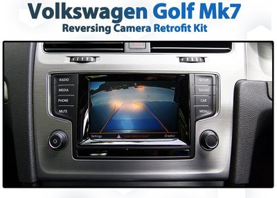 [2013 - 2018] Volkswagen Golf Mk7 Composition Media Audio add-on Back up Rearview Camera system