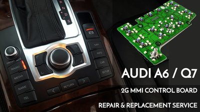 Audi A6 / Q7 2G MMi Navigation control PCB electrical board OEM repair and Replacement service_4L0 919 609