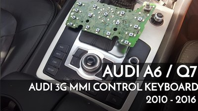 Audi A6 / Q7 3G MMi Navigation control PCB electrical board OEM repair and Replacement service_4L0 919 611
