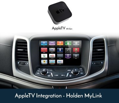 Holden VF Commodore MyLink - AppleTV 4K 4th Gen Retrofit Installation Kit