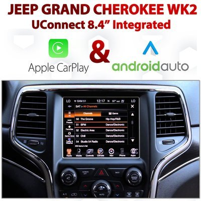 Jeep Grand Cherokee WK2 UConnect 8.4