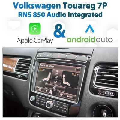 Volkswagen Touareg 7P 2010 - Current : Apple CarPlay & Android Auto Integration on RNS850 Audio
