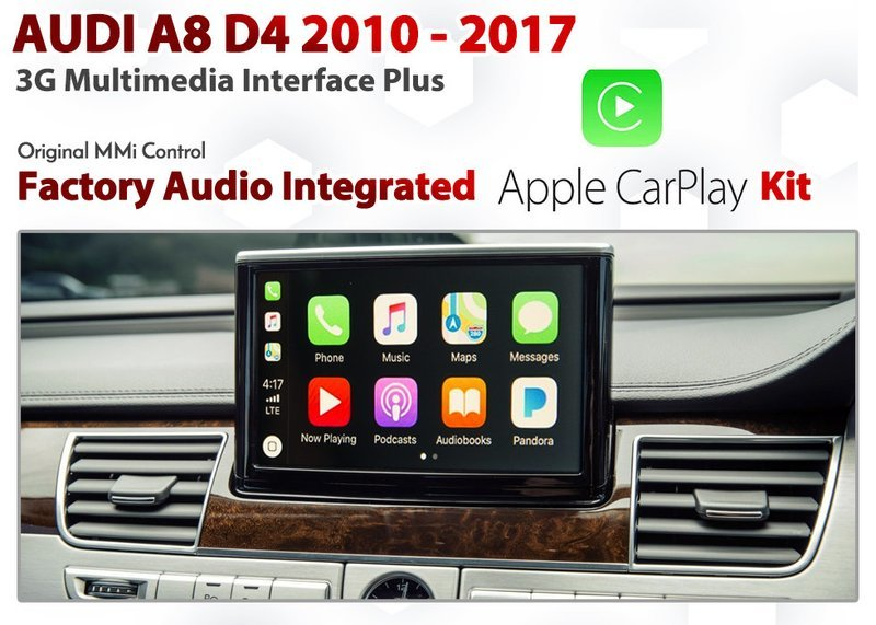 [DIAL] Apple CarPlay for Audi A8 D4 Series 2010 to 2017