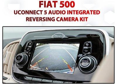 Fiat 500 2013 - 2017 / Reverse Camera Integration for UConnect 5
