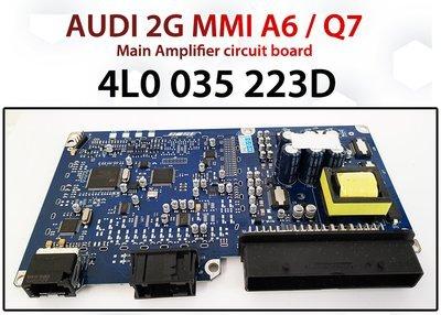 AUDI 2G MMI A6 / Q7 BOSE Amplifier Circuit board GENUINE 4L0035223D Parts