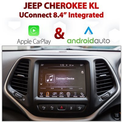 Jeep Cherokee KL UConnect 8.4