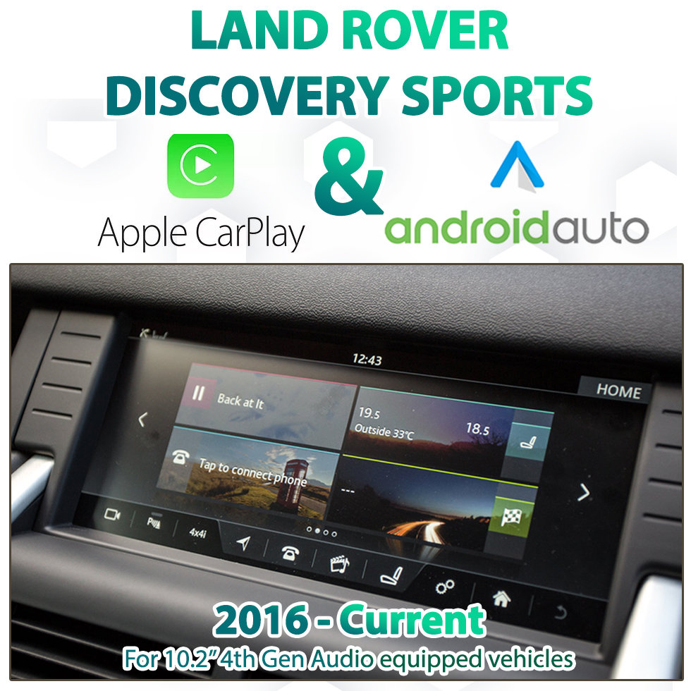Land Rover Discovery Sports - InControl Touch Pro Integrated Apple CarPlay & Android Auto