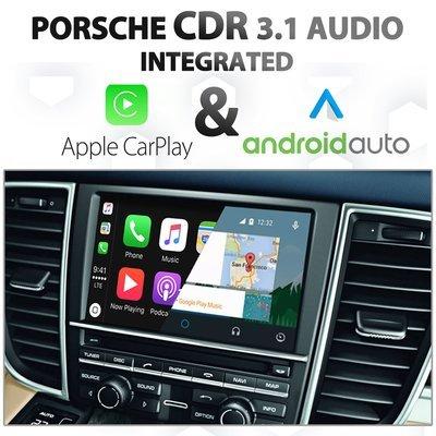 Porsche Cayenne / Panamera CDR 3.1 Audio Integrated Apple CarPlay & Android Auto retrofit Install Kit