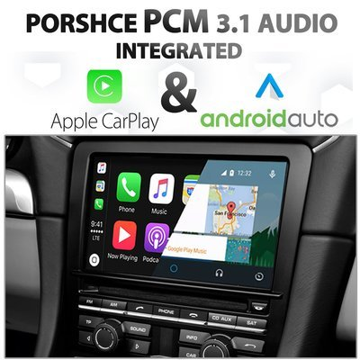 Porsche PCM 3.1 Integrated Apple CarPlay & Android Auto Upgrade Package