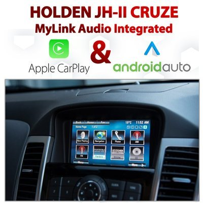 Holden / Chevrolet Cruze JH-II MyLink Integrated Android Auto & Apple CarPlay Package Kit