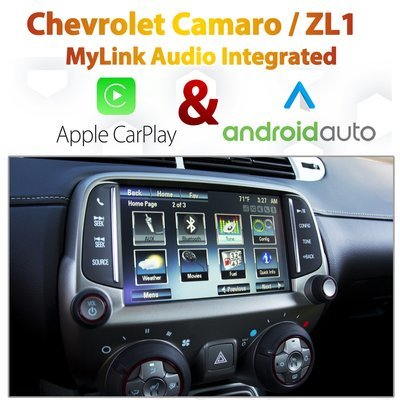 Chevrolet CAMARO / ZL1 MyLink Integrated Android Auto & Apple CarPlay Package Kit