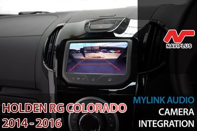 Holden RG Colorado 2014 - 2016 MyLink Integrated Reversing Camera Retrofit Kit