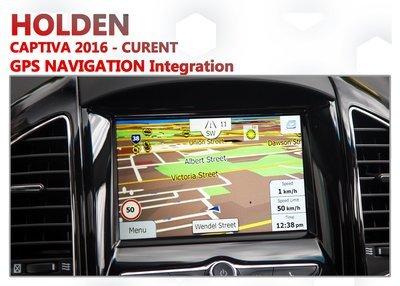 Holden Captiva 2016 - Current MyLink Add-on GPS Navigation Audio Upgrade