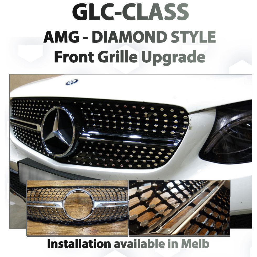 Mercedes Benz GLC-Class - AMG style Diamond Grille Upgrade service