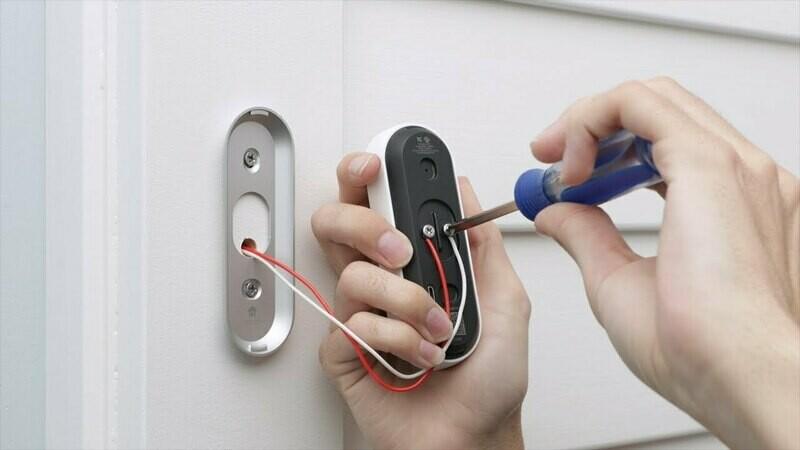 Smart Nest Doorbell Installation