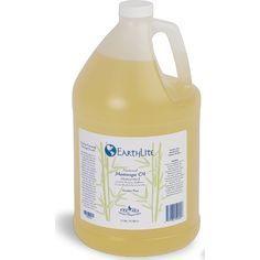 Earthlite Natural Nut Massage Oil, 3,78 liter