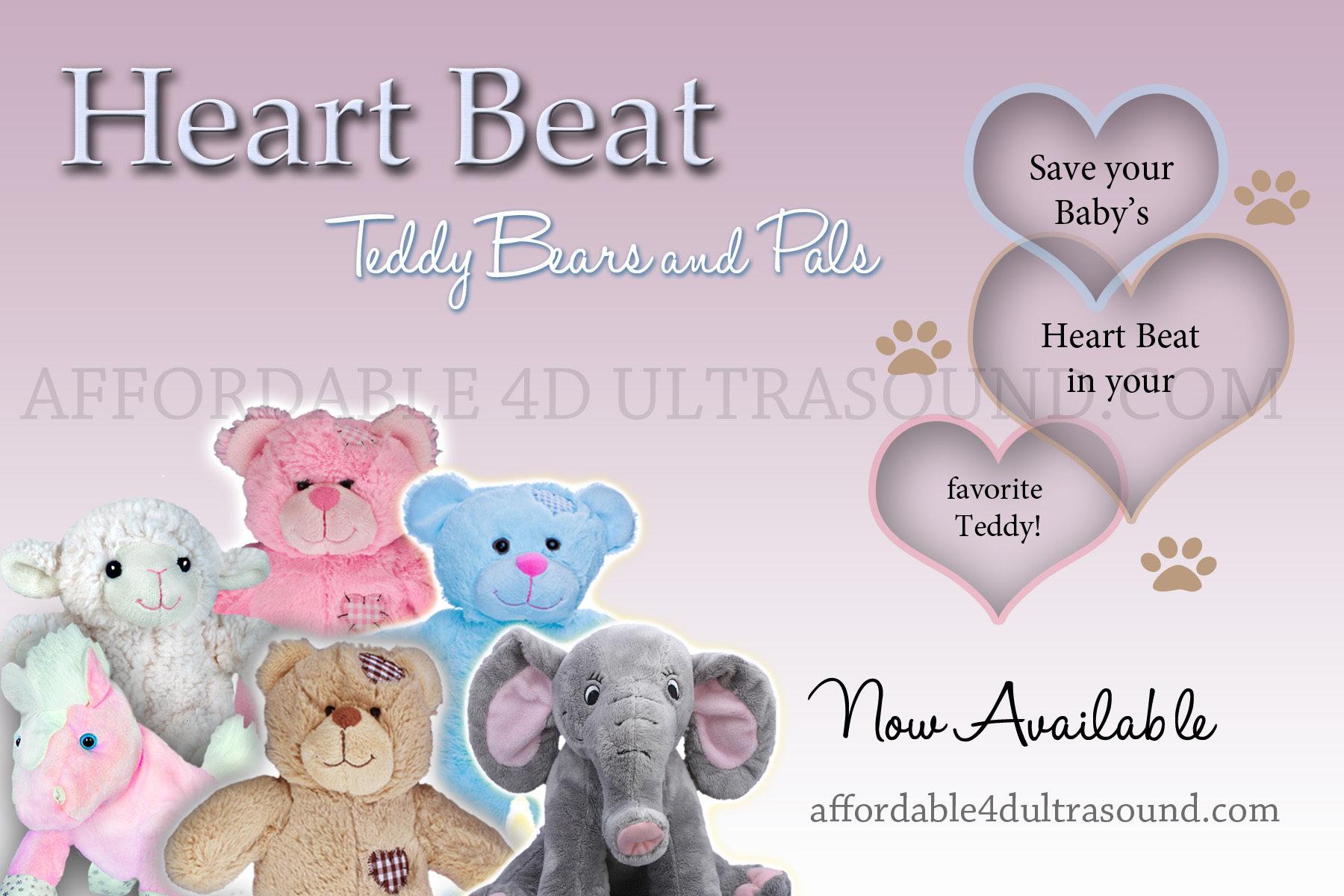 Brown Bear Heart Beat Pal