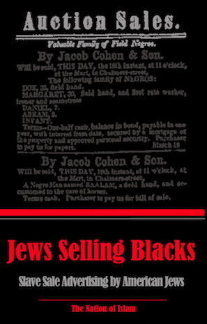 Jews Selling Blacks: Slave-Sale Advertising by American Jews