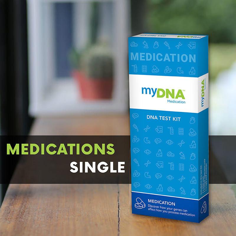 myDNA MEDICATION TEST (SINGLE)
