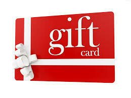 Gift card for our e-store