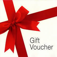 GIFT VOUCHER for physical store