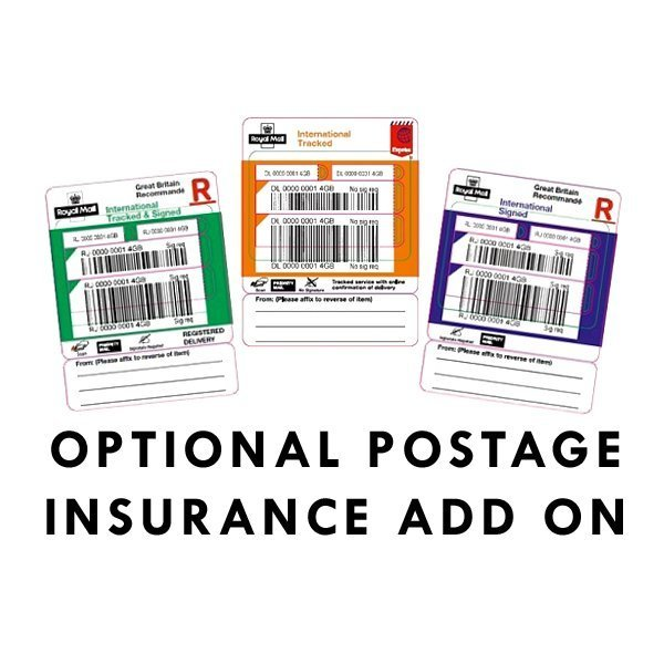 Post add ons - Insurance ($2 per $100 order value) / Signature on delivery $2.50