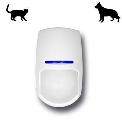 Wireless PIR Detector Pet or Non Pet Sensor Installed
