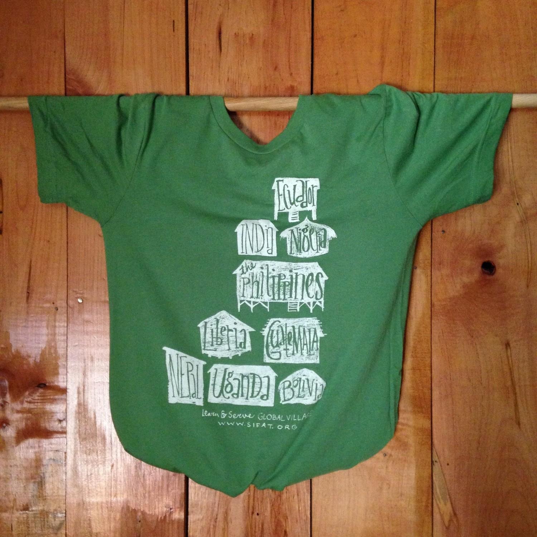 Green Global Village T-shirt