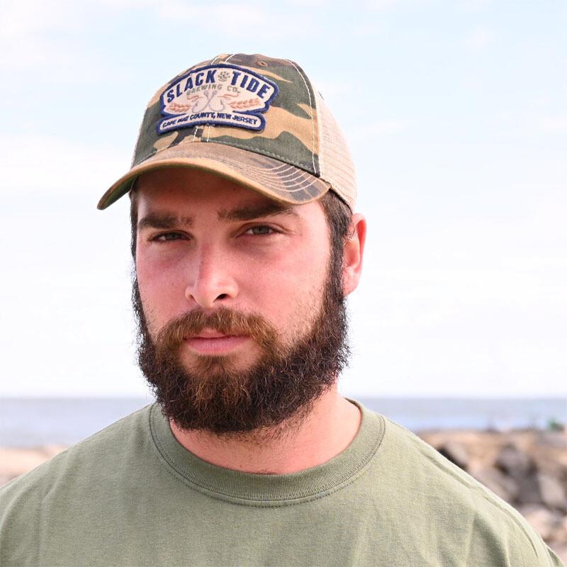 Trucker Hat: Green Army Camo