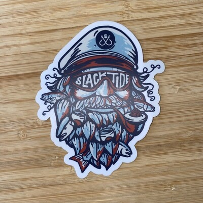 Captain Salty Sticker