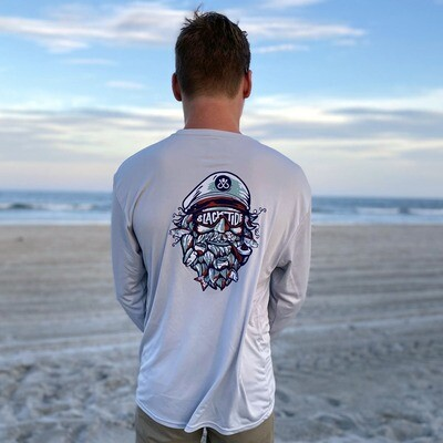 Grey UV Salty Captain Long Sleeve