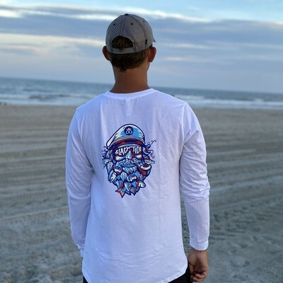 White Salty Captain Long Sleeve