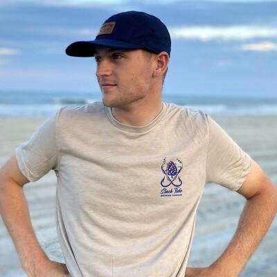 Tan Salty Captain T-Shirt