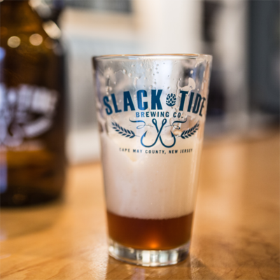 Logo Pint Glass with Flagship Logo