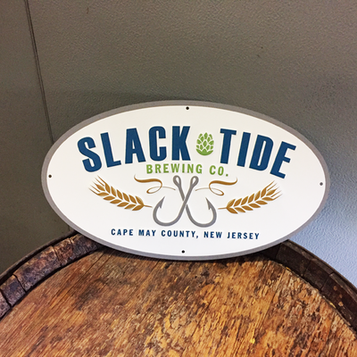 Slack Tide Flagship Logo Tin Tacker