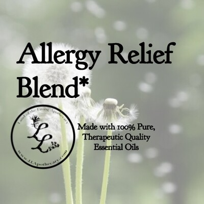 Allergy Relief Blend| All-Natural (especially great for kids)