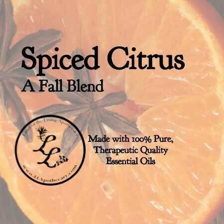 Spiced Citrus   A Fall Blend