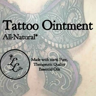 Tattoo Ointment   All-Natural