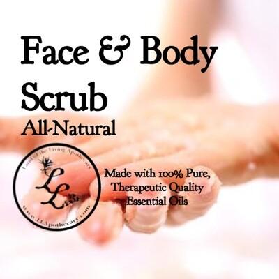 Face & Body Scrub   All-Natural