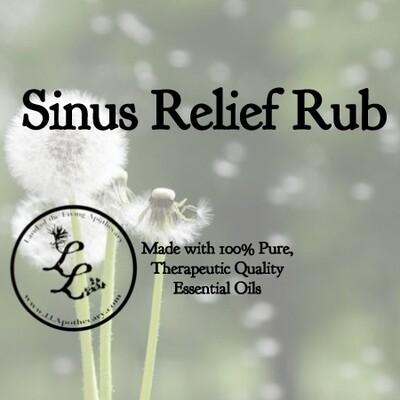 Sinus Relief Rub | Sinus Issues?