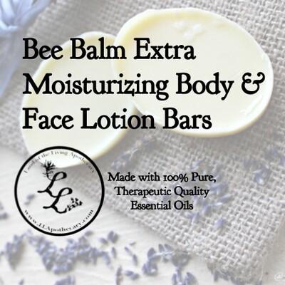 Bee Balm Extra Moisturizing Body & Face Lotion Bars
