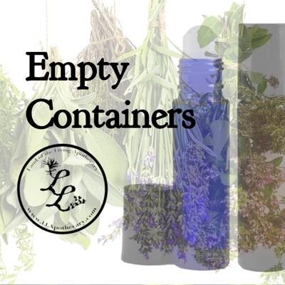 Empty Containers & Swiss Keys